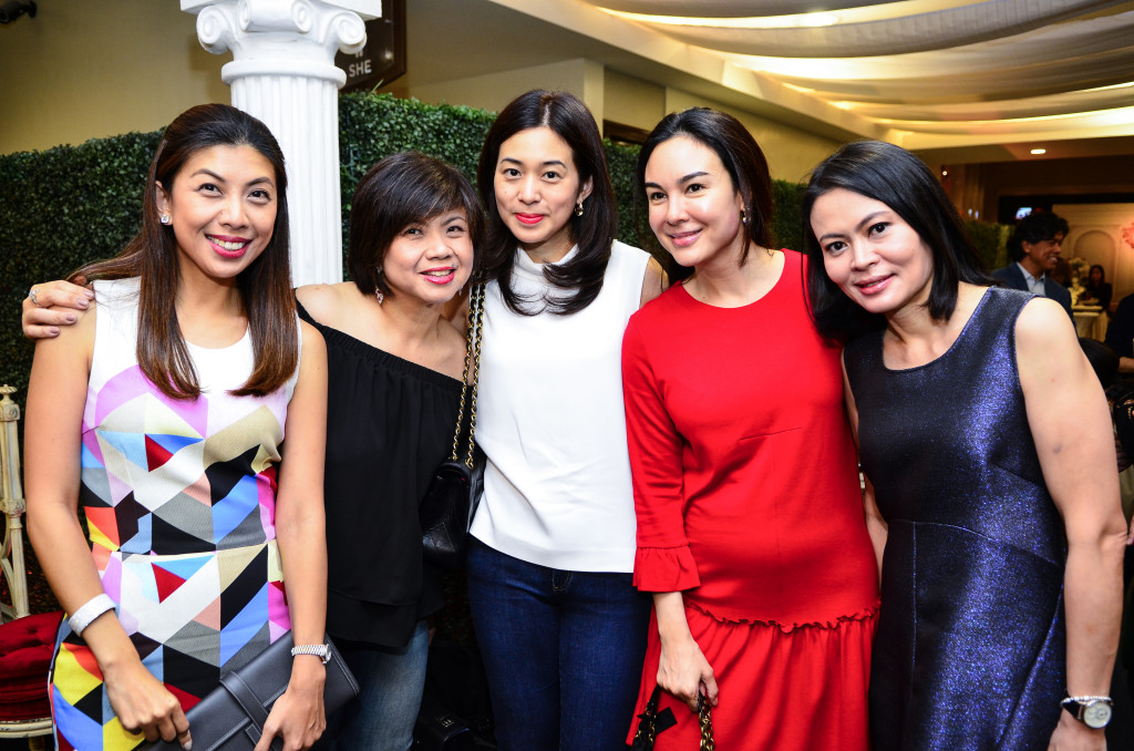 From L to R Mia Ynares, Florence Ko, Rowena Chang, Gretchen Barretto, Jackie Ejercito Lopez