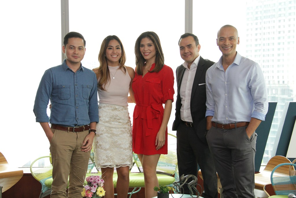 Mornings@anc hosts. Christian Esguerra, Gretchen Ho, Ginger Conejero, David Celdran, Paolo Abrera