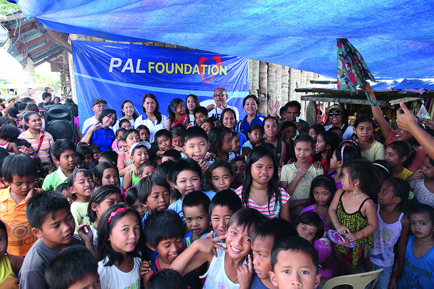 PAL Foundation gift giving in TAC Jan. 2015