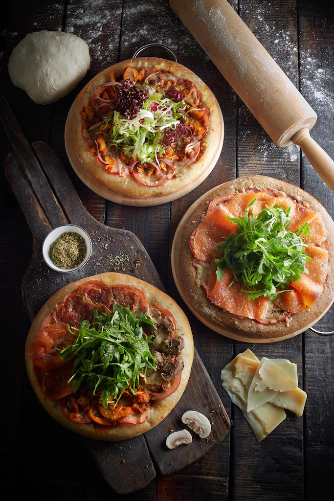 Passion Sour dough pizzas