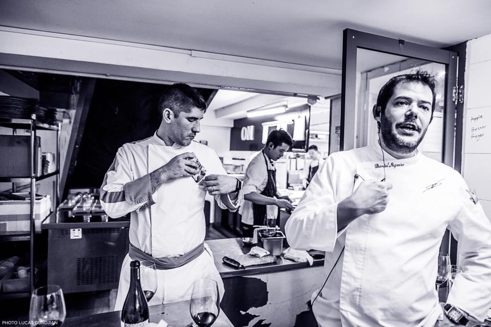 Chef William Mahi & Chef Daniel Negreira