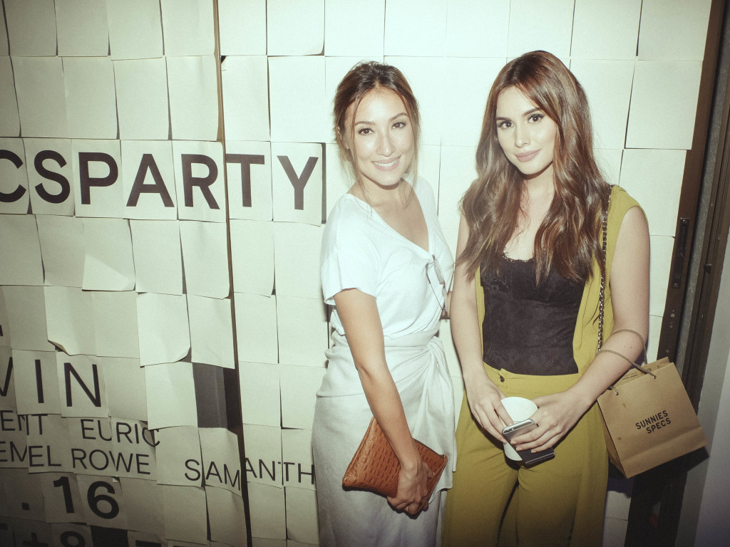 Solenn Heussaff and Max Collins