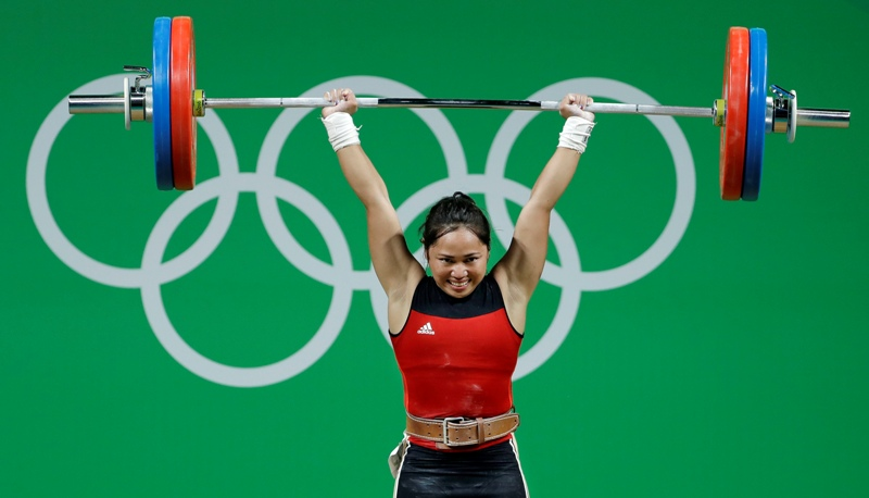 Rio Olympics Weightlifting Women