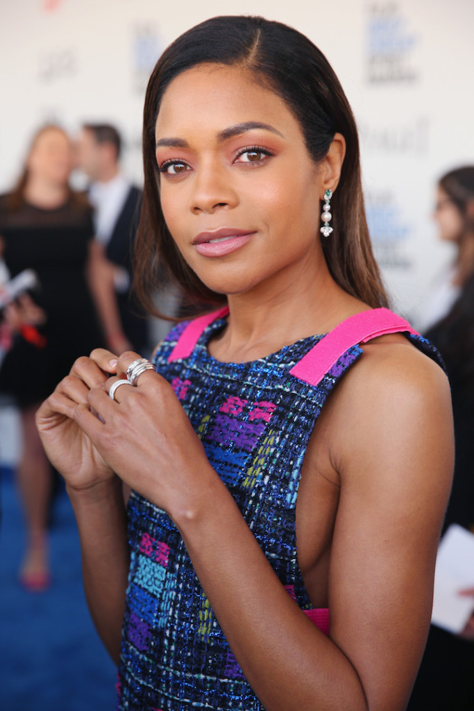 SANTA MONICA, CA - FEBRUARY 25: Actor Naomie Harris with Piaget at the 2017 Film Independent Spirit Awards at Santa Monica Pier on February 25, 2017 in Santa Monica, California. (Photo by Joe Scarnici/Getty Images for Piaget)