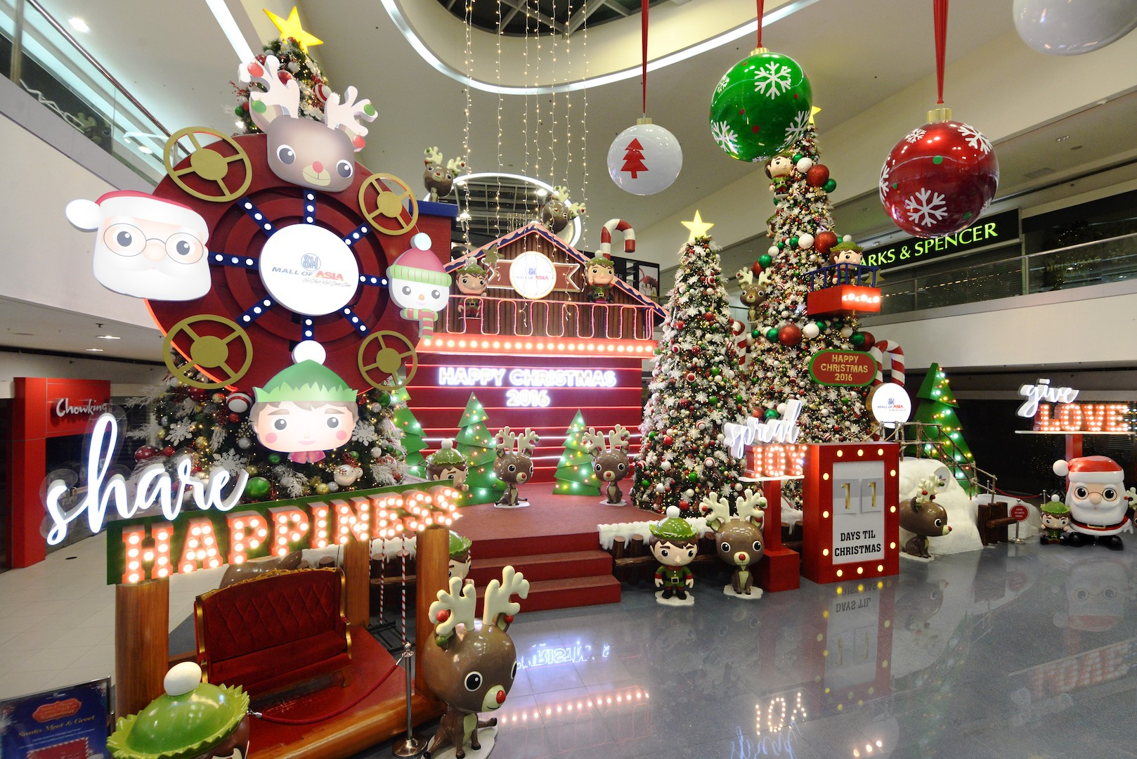SM MOA_Christmas Wonderland