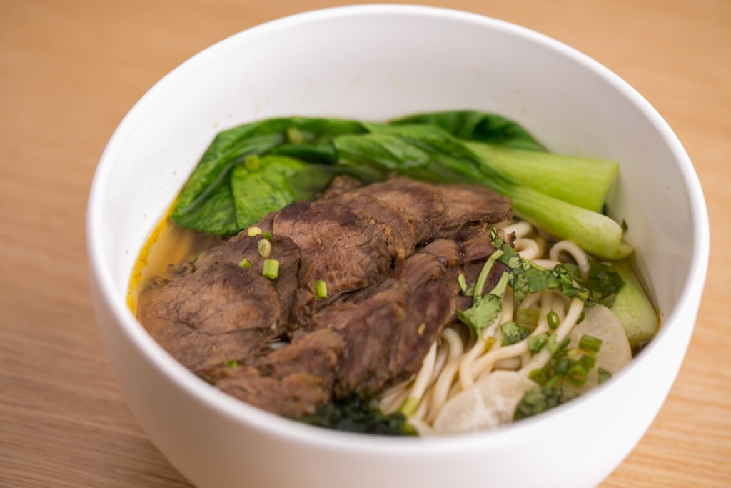 Hand-Pulled Noodles in Beef Broth