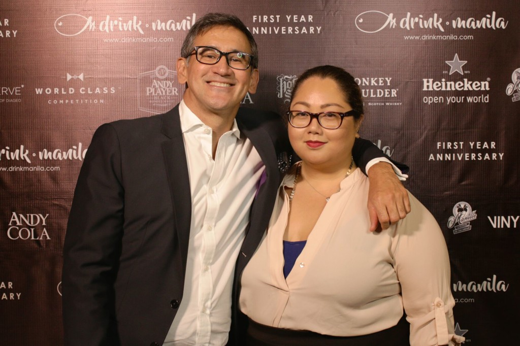 Peninsula Manila's Director of Public Relations Mariano Garchitorena and Raffles and Fairmont Makati's Marketing Communications Manager Margaux Hontiveros