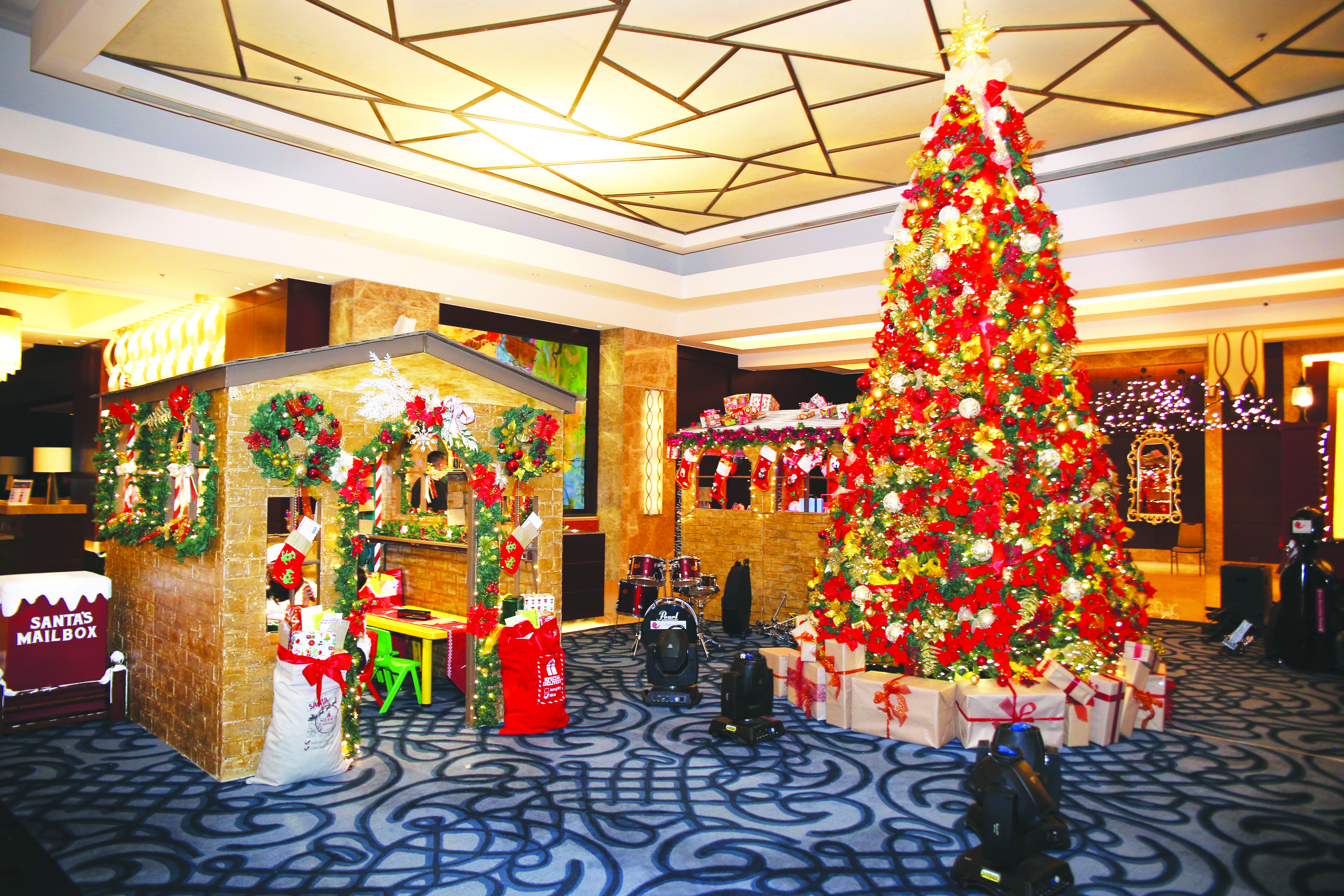 Santaville at the Gallery of Crimson Hotel
