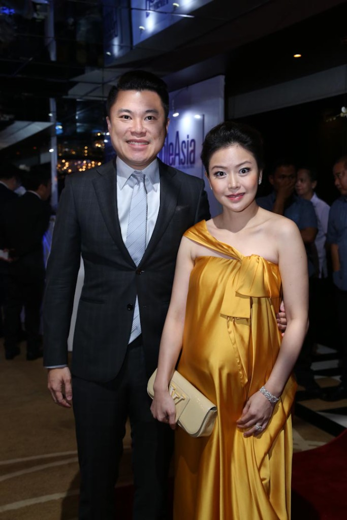 """""""People of the Year"""" awardee Kevin Tan and wife Michelle"""