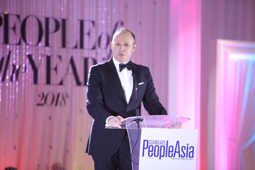 Sofitel Philippine Plaza GM Adam Laker welcomes guests to the hotel