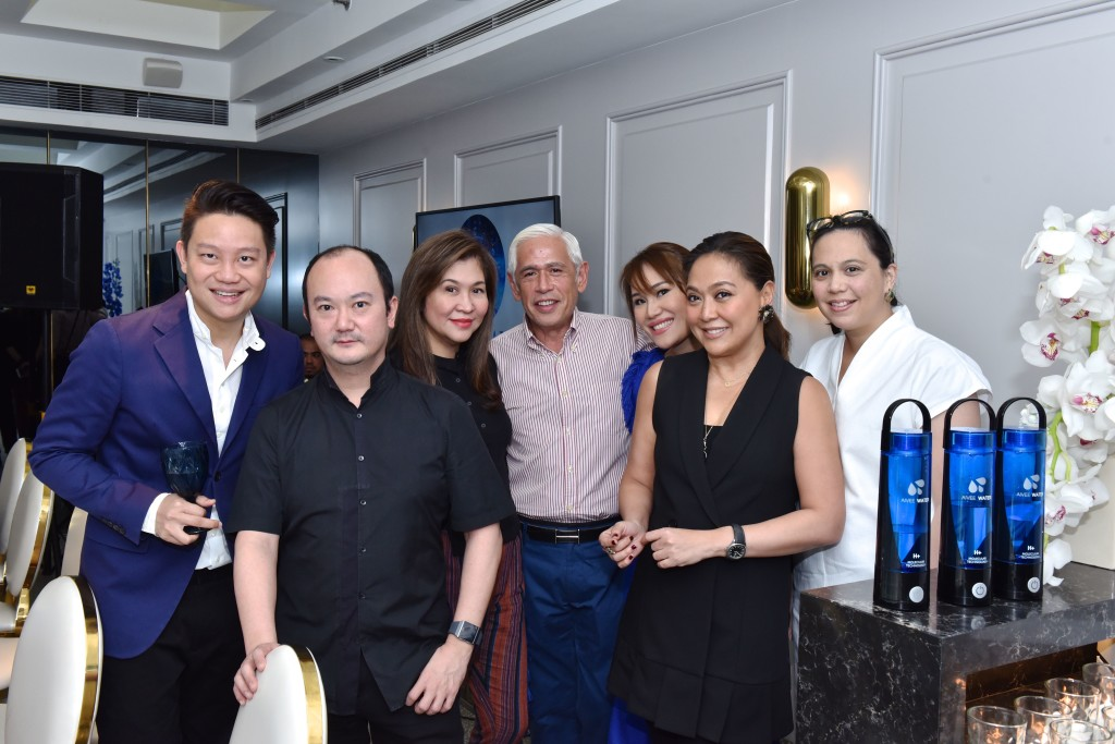 Dr. Z Teo, Pepper Teehankee, Mons Romulo, Raul Manzano, Dr. Aivee Teo, Karen Davila and Alicia Colby Sy