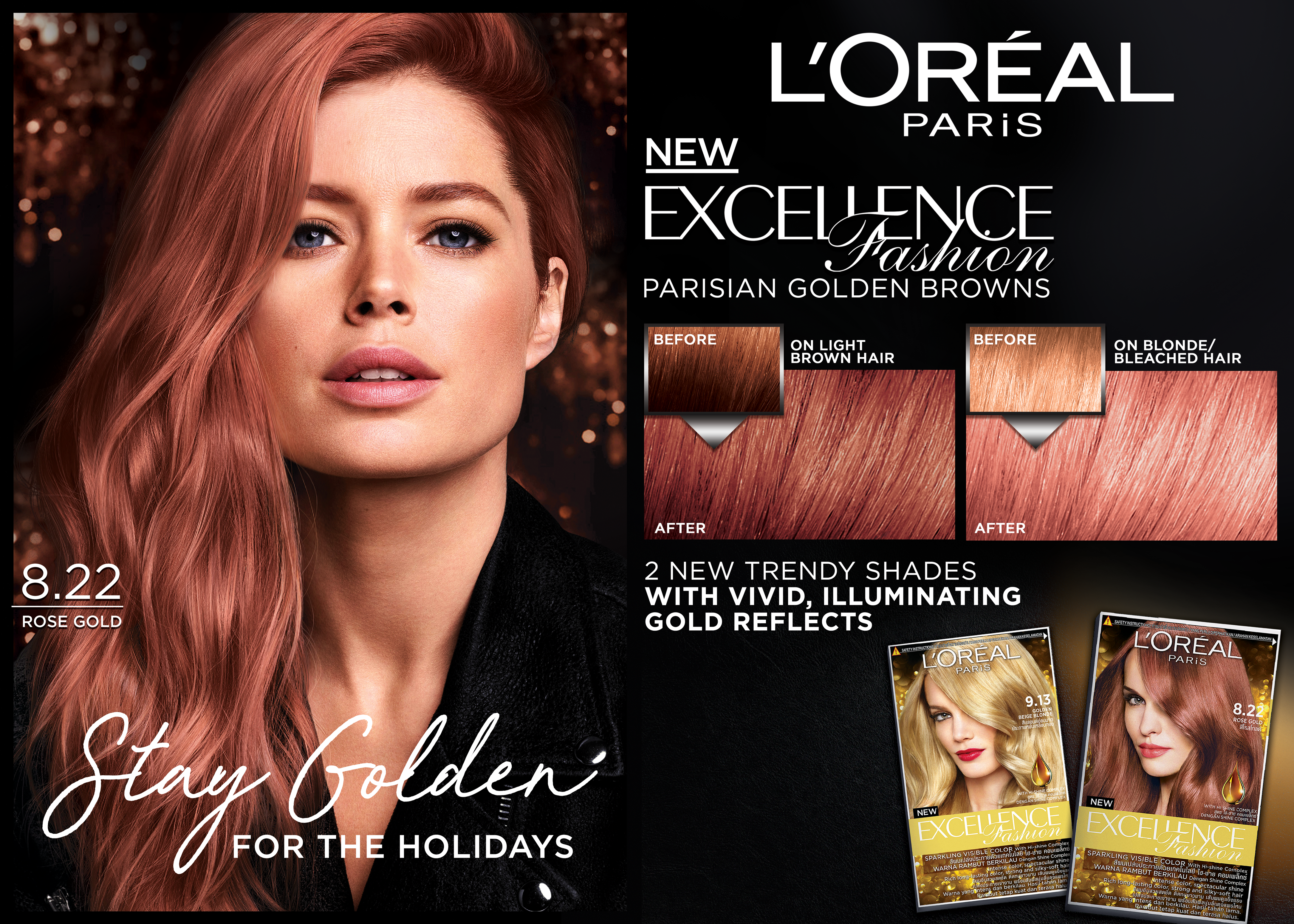 Cop The Hottest Hair Color Trend This Holiday Season With L Oreal